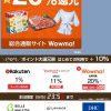 【LINEショッピング】Wowma!の利用で20%還元【本日9/5のみ】